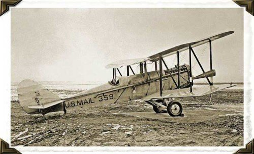 1918 DeHavilland DH-4 Mail Plane